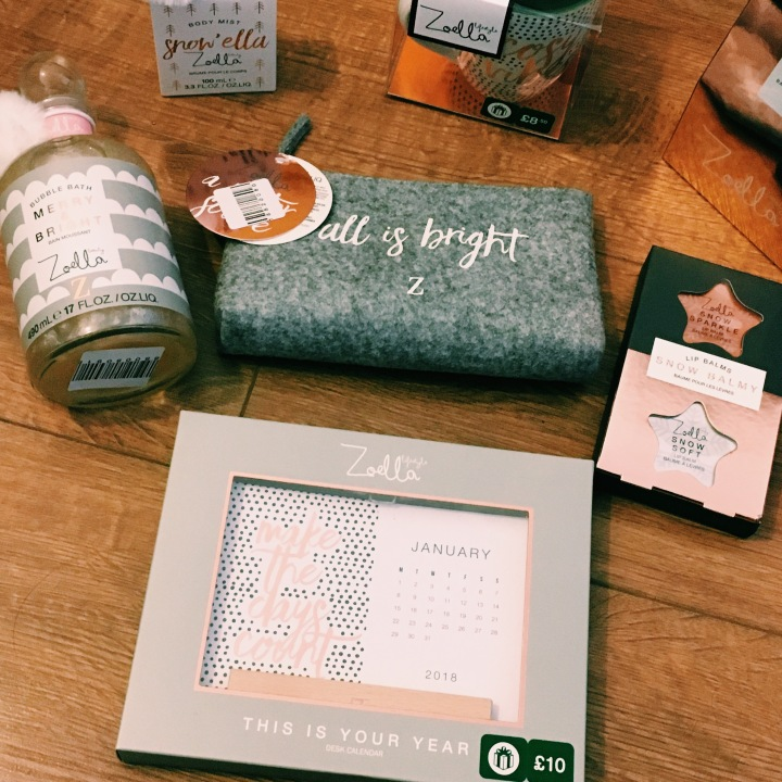 Christmas Zoella Beauty Review