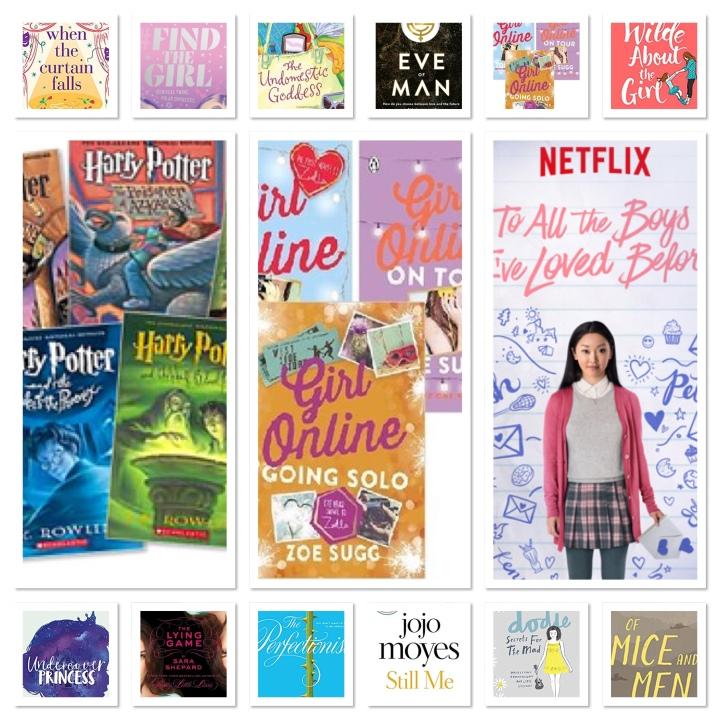 2018 Goodreads challenge:)