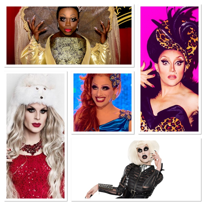 My favourite drag queens from Ru Paul's Drag Race!! :)