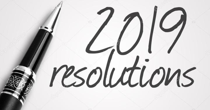 New Years resolutions Lookback:)