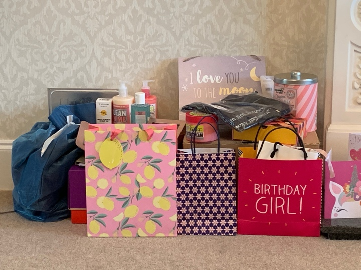 July-ving and thriving Day 7: What I got for my 23rd Birthday:)