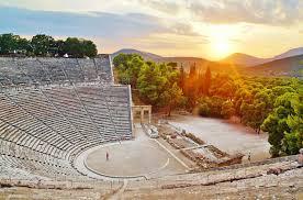 Epidaurus and Nafplio in Greece in 1968:)