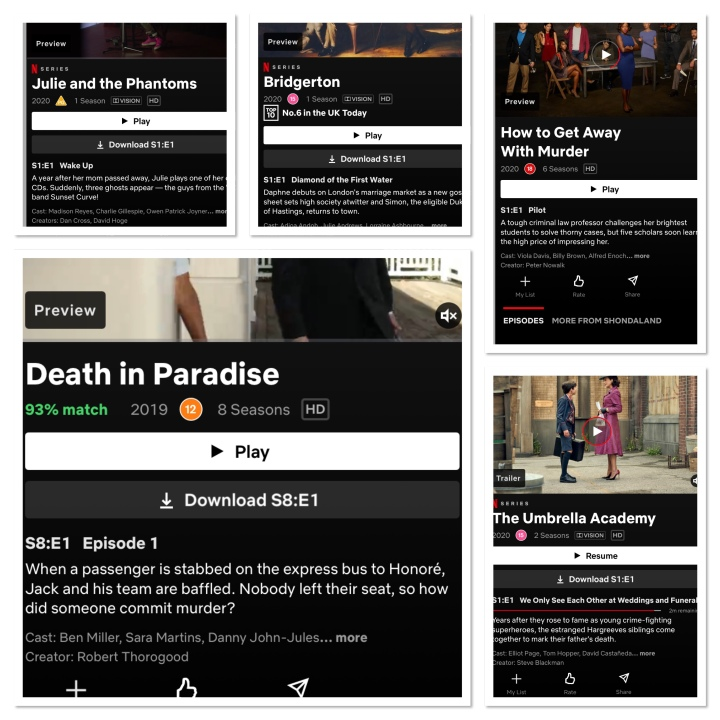 5 TV Shows I have been watching during Lockdown 3:)