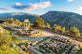 Delphi in Greece in 1968:)