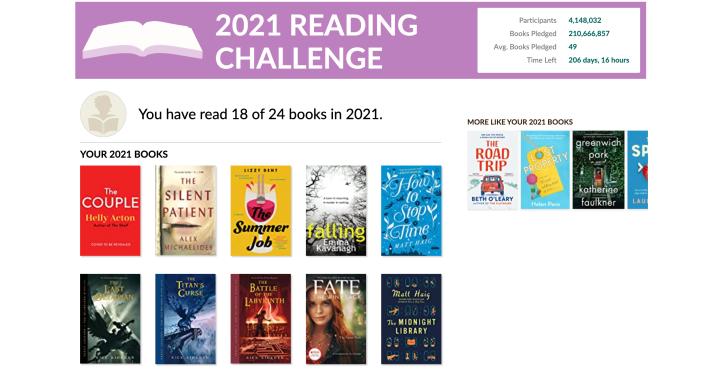 2021 Reading Challenge Pt 3:)