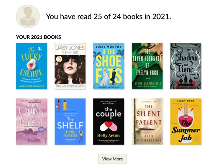 2021 Reading Challenge Part 4:)